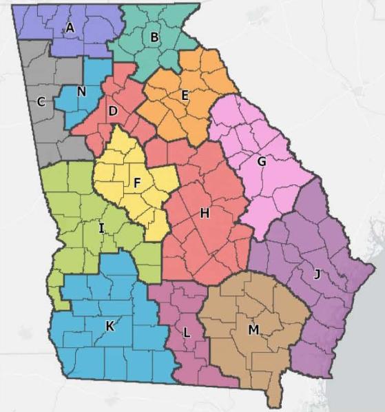 Regional Coordinating Hospitals in Georgia